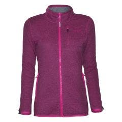 Polar Knitted Outdoor Full Zipper Mujer